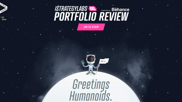 islreview.com Parallax scrolling site