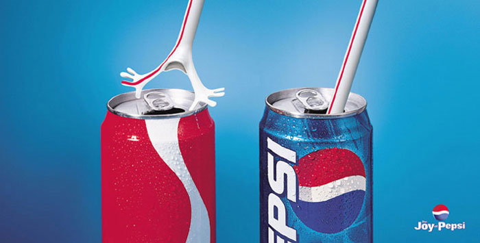 Coca Cola And Pepsi Print Ads (37 Advertisements)