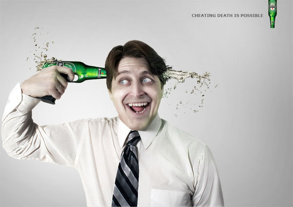 HEINEKEN DEATH CHEATER Photo Manipulation