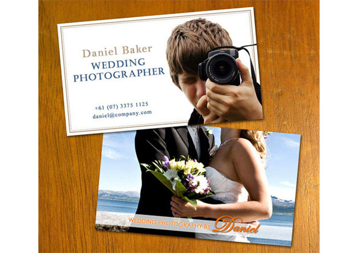 Creative Photography Business Cards - 31 Examples