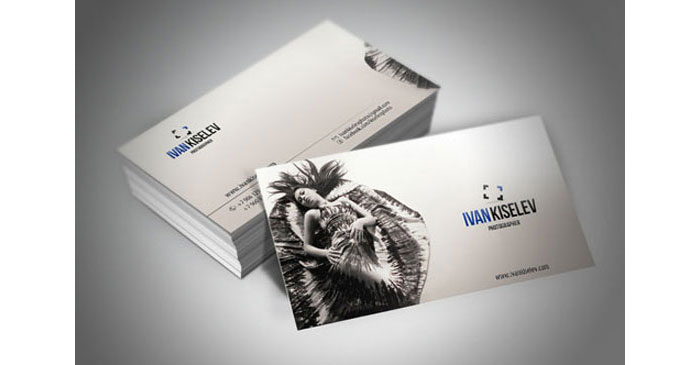 42578135006 Creative Photography Business Cards