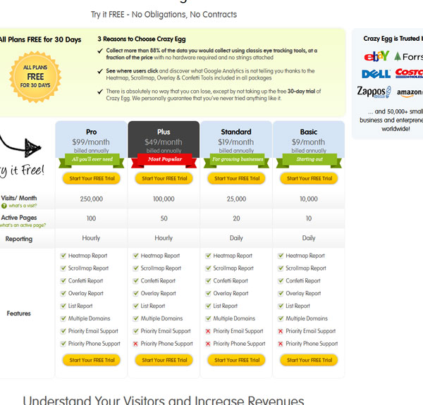 Best Practices Of Pricing Tables In Web Design - 41 Examples