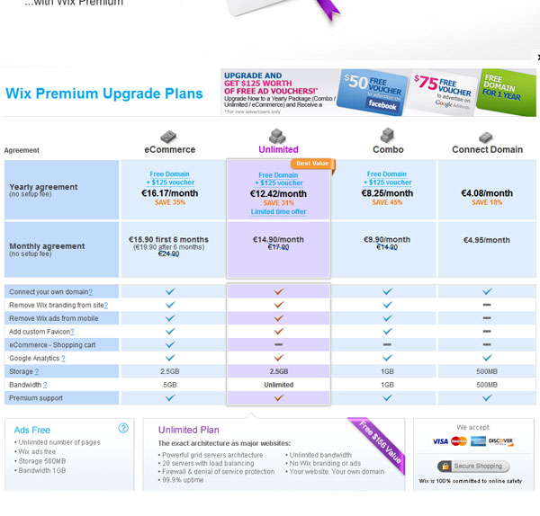 Pricing Table Design Free Download