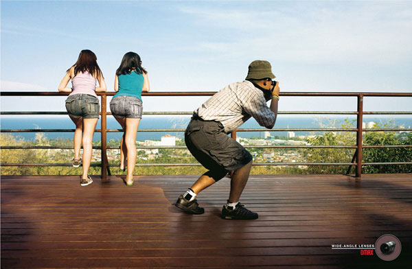 Omax-Wide-Angle-Lenses Advertisement Ideas: 500 anuncios creativos y geniales
