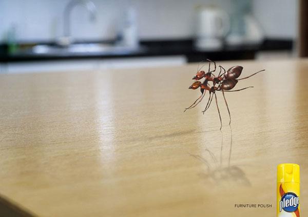 Compromiso --- Ideas de publicidad para pulir muebles: 500 anuncios creativos y divertidos