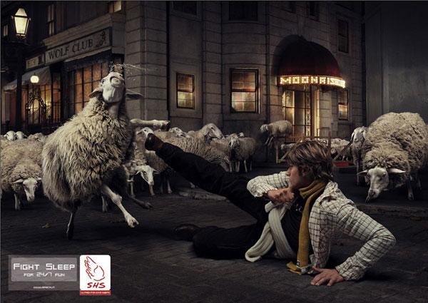 SHS --- Ideas publicitarias para luchar y dormir: 500 anuncios creativos y geniales