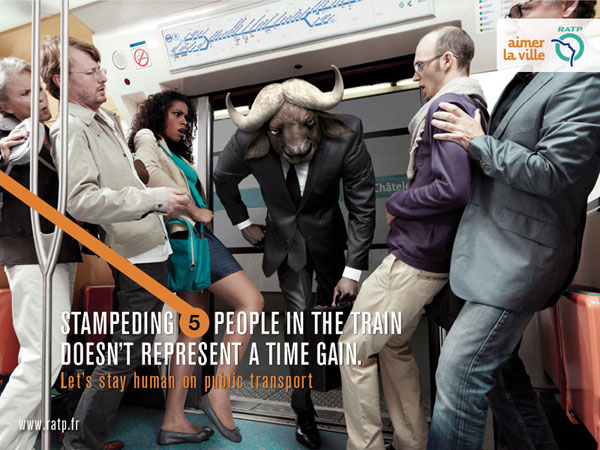 ratp_bull Ideas publicitarias: 500 anuncios creativos y geniales
