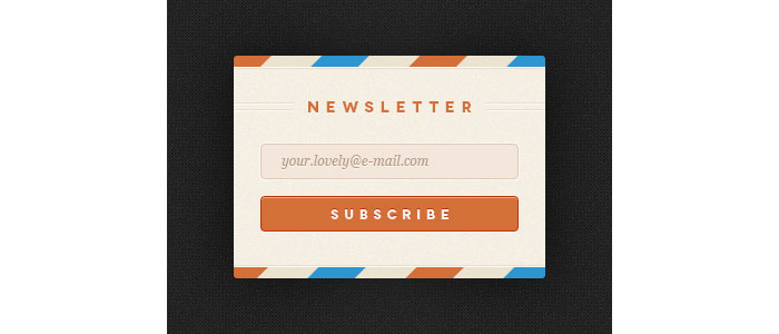 Rebound Newsletter - with PSD Design for download