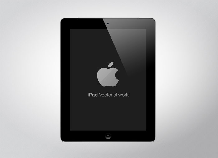 New iPad Mockup Design