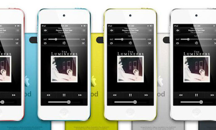 Ipod Touch PSD Template Mockup Design