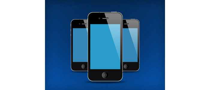 FREE PSD Iphones Illustration Mockup Design