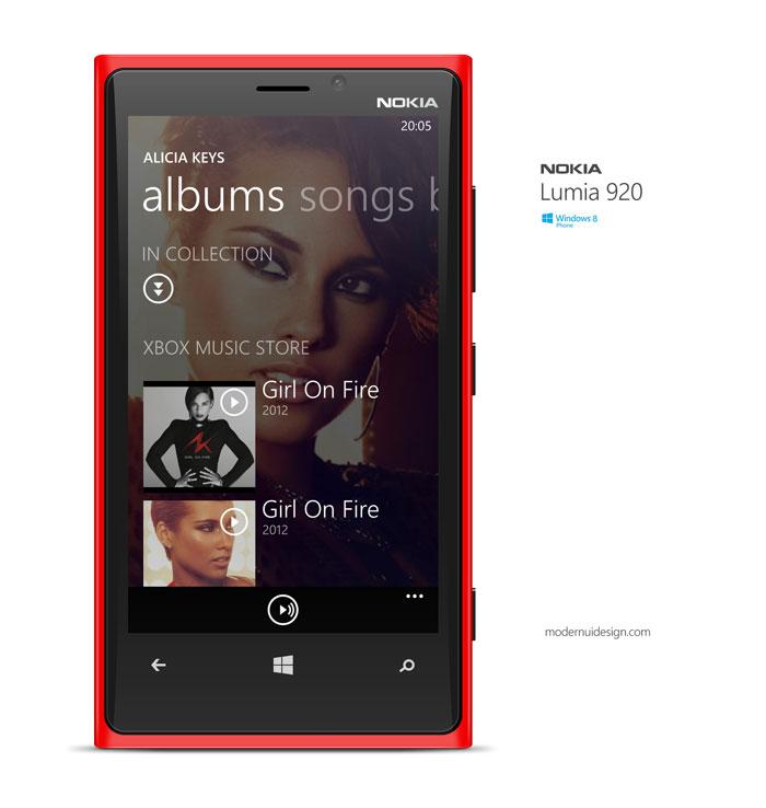 Free Lumia 920 .psd Mockup Design
