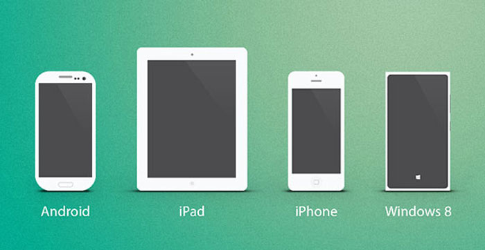 Multiple Devices Mockup Design