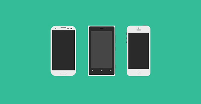 Mobile Flagships with PSDMockup Design