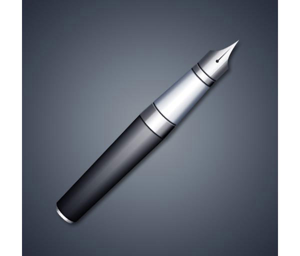 How to Create a Realistic Fountain Pen