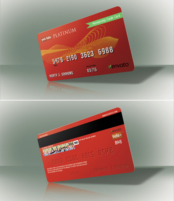 Create a Realistic Credit Card in Photoshop