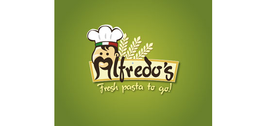 Alfredo's Restaurant Logo Design