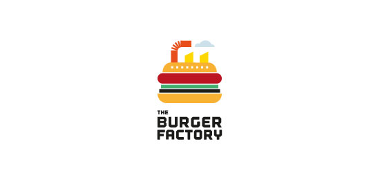 Burger Factory Restaurant Logo Design