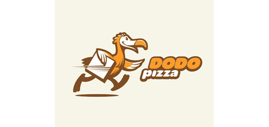DODO pizza Restaurant Logo Design