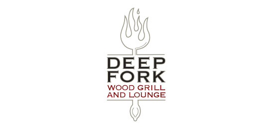 Deep Fork Restaurant Logo Design