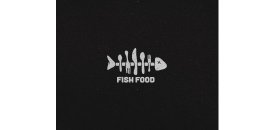 Fish Food Restaurant Logo Design