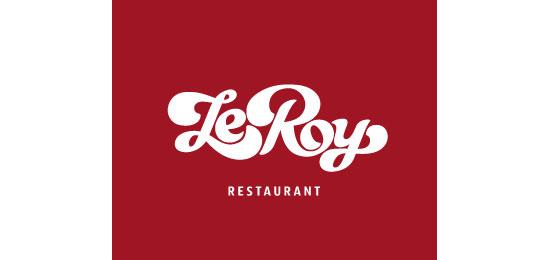 LeRoy Restaurant Logo Design