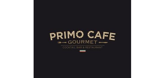 Primo Cafe Gourme Restaurant Logo Design