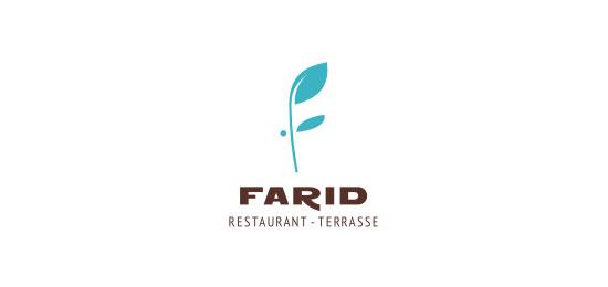 Restaurant Farid Restaurant Logo Design