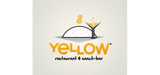 Yellow Restaurant Logo Design
