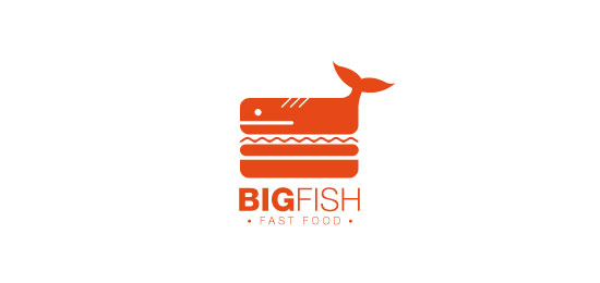 bigfish Restaurant Logo Design