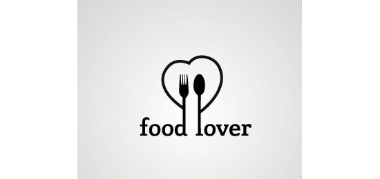 foodlover Restaurant Logo Design