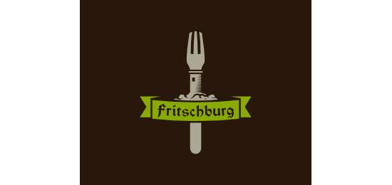 fritschburg Restaurant Logo Design