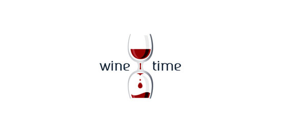 winetime Restaurant Logo Design