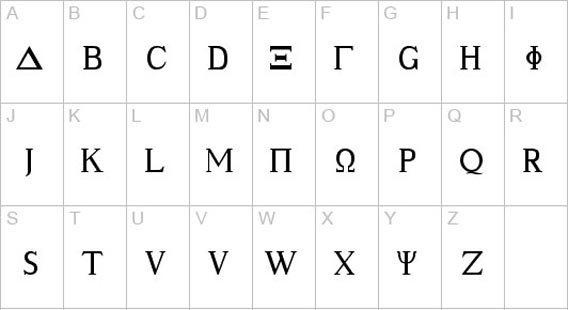Ancient Geek Free Roman And Greek Looking Fonts 36 Examples