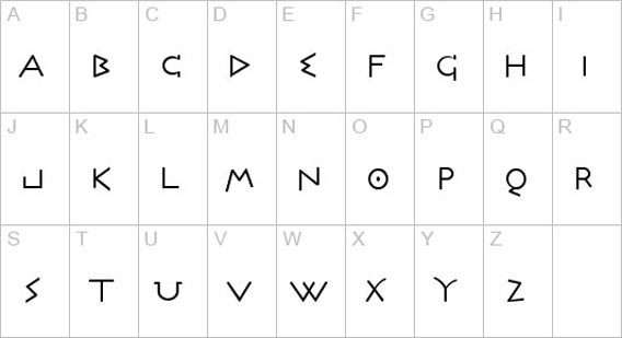 Free Roman And Greek Looking Fonts 36 Examples