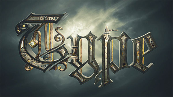 Steampunk Typography Design Inspiration in Romania