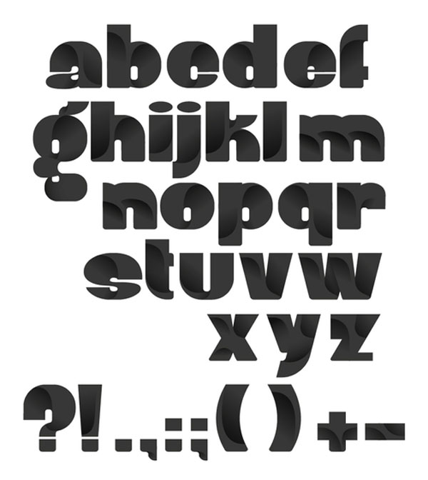 Robu Bold Typeface Design Inspiration in Romania