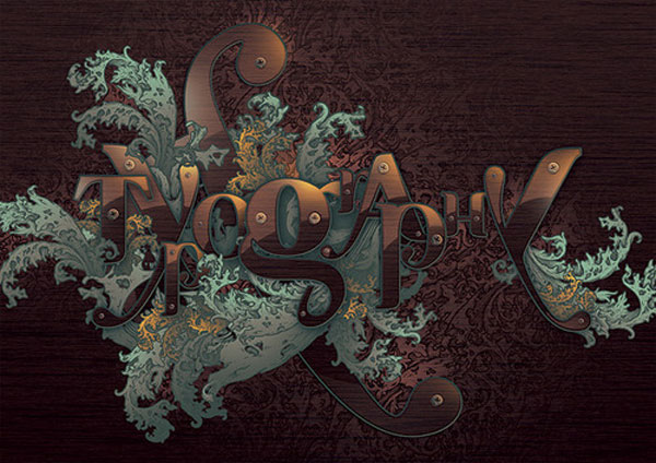 Typographic Illustration Design Inspiration in Romania