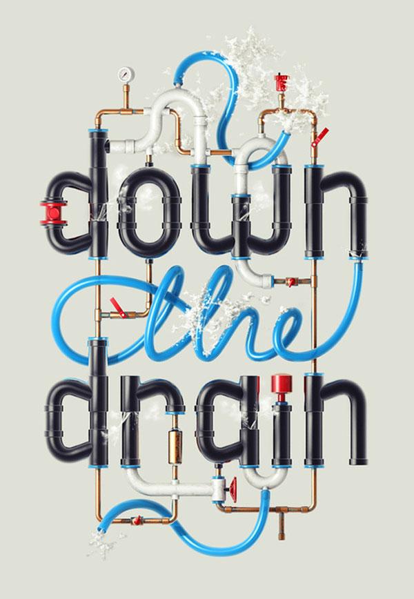 Down the Drain Design Inspiration in Romania