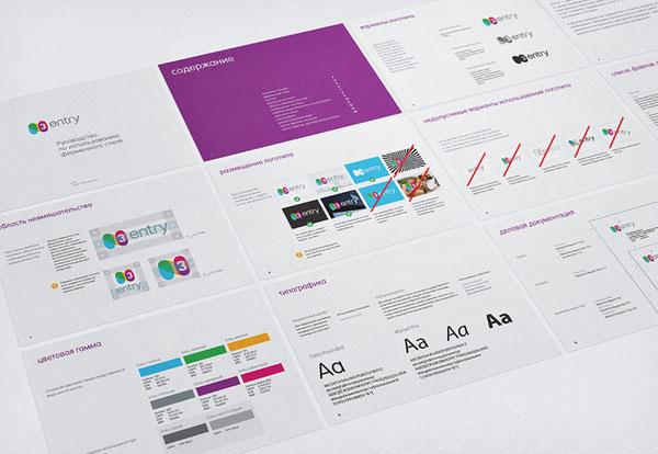 Entry identity Russian Design Inspiration
