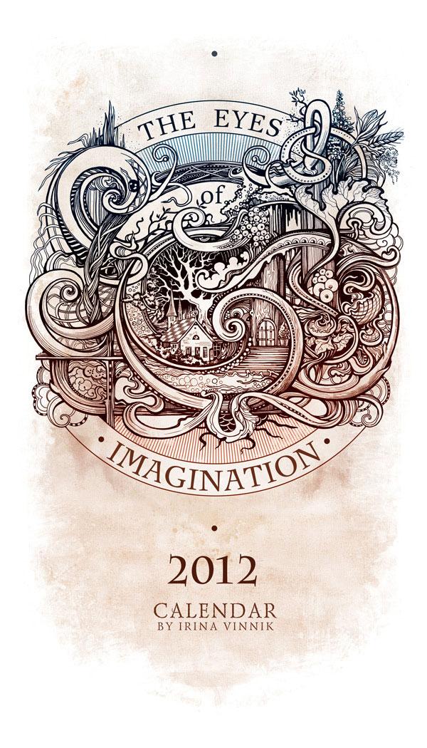 The Eyes of Imagination (Calendar 2012) Russian Design Inspiration