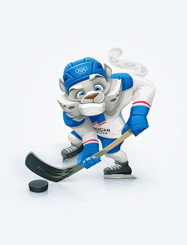 Olympic mascots Russian Design Inspiration