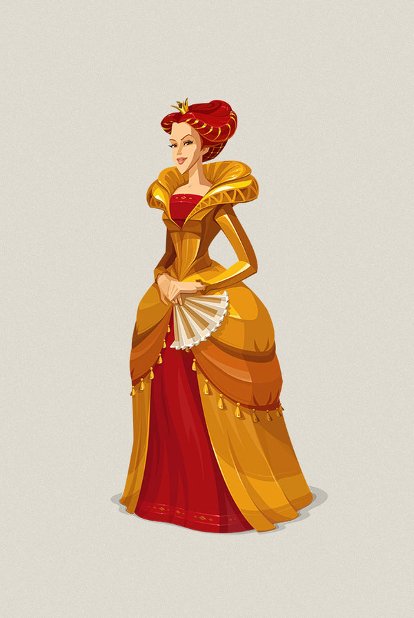 Medieval Characters Russian Design Inspiration