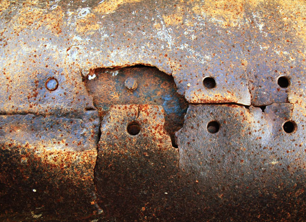 Eroded rusted texture 2 Download for free