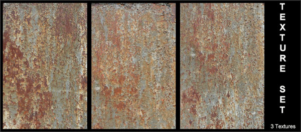 Texture Set - Rusty Metal Download for free