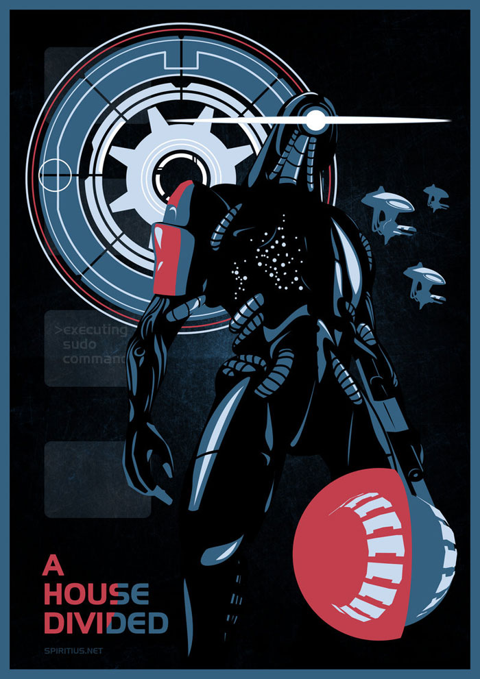 Vector Illustrations That Fall Under The Science Fiction Theme