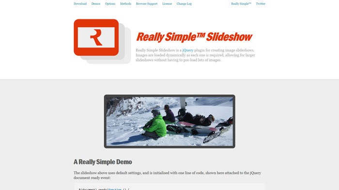 Write a simple slideshow page without js