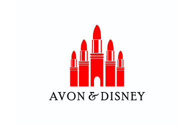 AVON & DISNEY logo