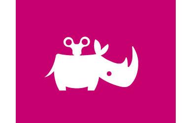 Clockwork rhino logo
