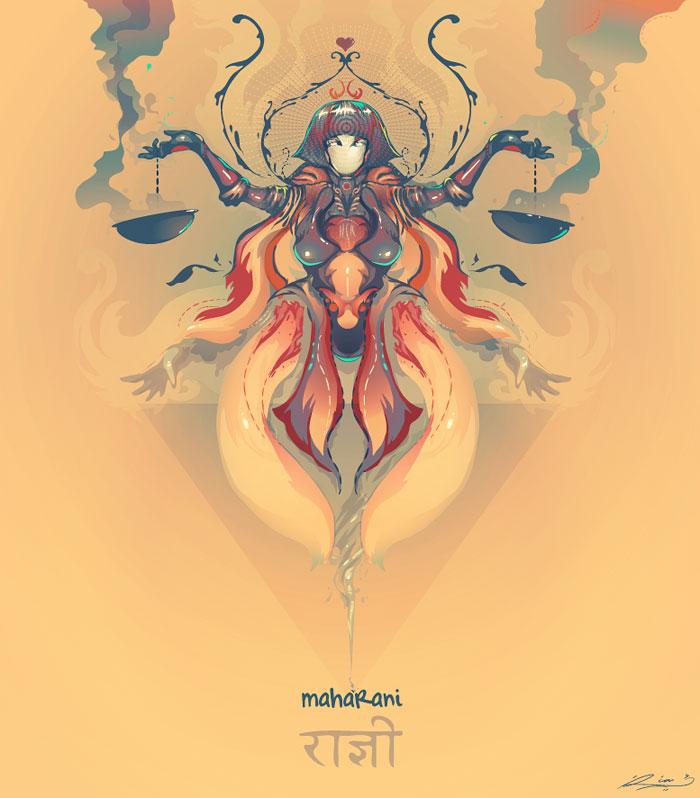 Maharani Vector Design Inspiration